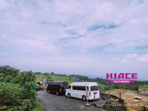 Sewa mobil Hiace - hiace transport