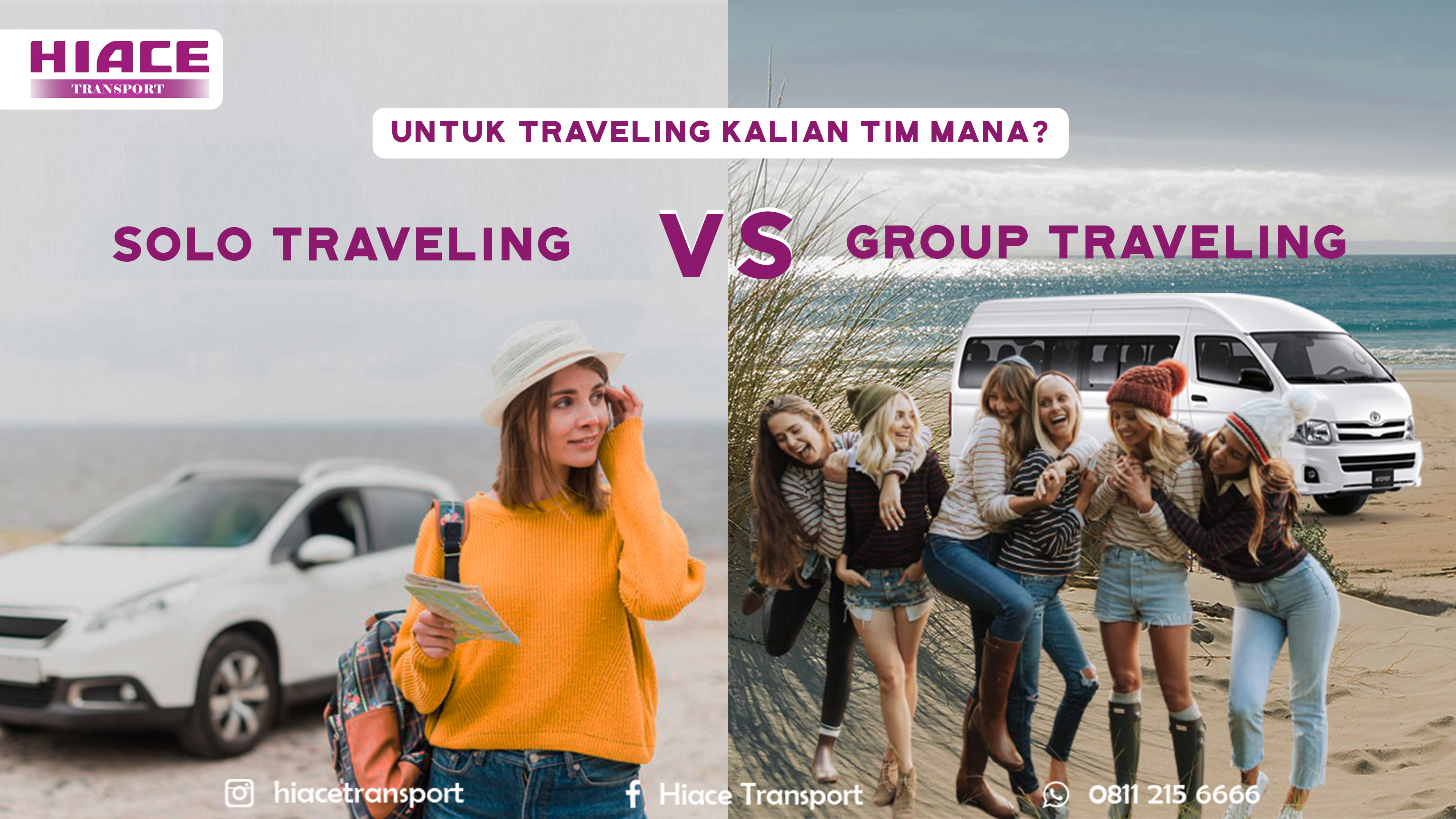 Solo traveling vs group traveling